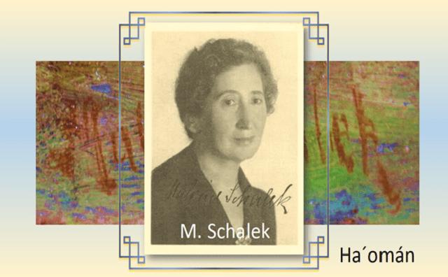 Malva Schalek y el retrato que no pintó