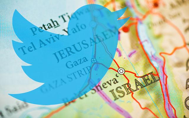 Noticias sobre Israel encontradas en Twitter
