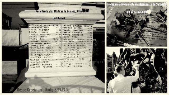 En memoria de las víctimas de Kommeno Arta