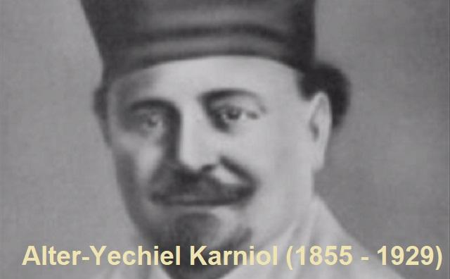Alter-Yechiel Karniol: un arcoíris de emociones