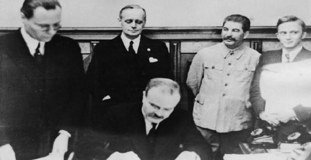 El Pacto Ribbentrop-Molotov y el reparto de Europa Oriental