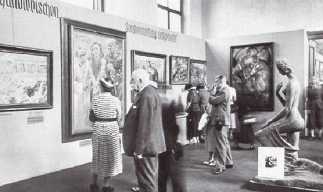 Entartete Kunst. El nazismo y la destrucción de la cultura