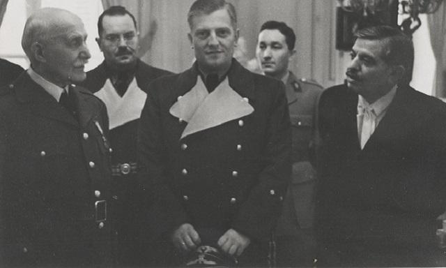 Otto Abetz, embajador alemán en la Francia ocupada