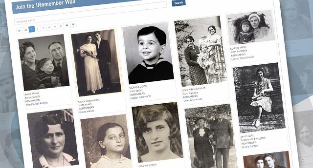 El Muro del Yo Recuerdo, y los embajadores de la memoria del holocausto en Facebook
