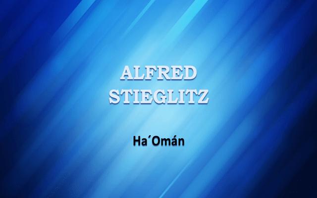 Alfred Stieglitz: la fotografía como arte