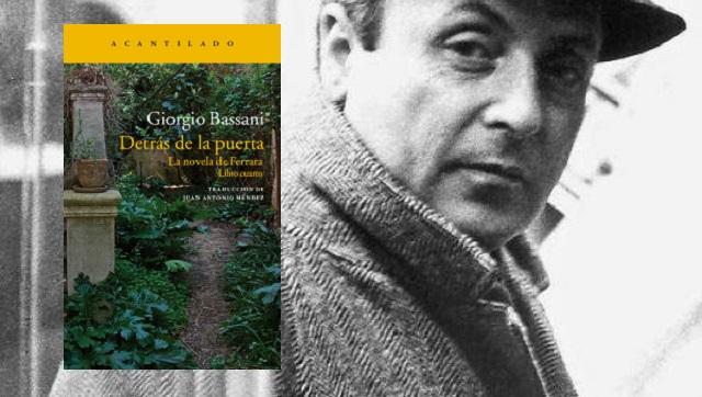 """""""Detrás de la puerta"""" de Giorgio Bassani, con Juan Antonio Méndez"""