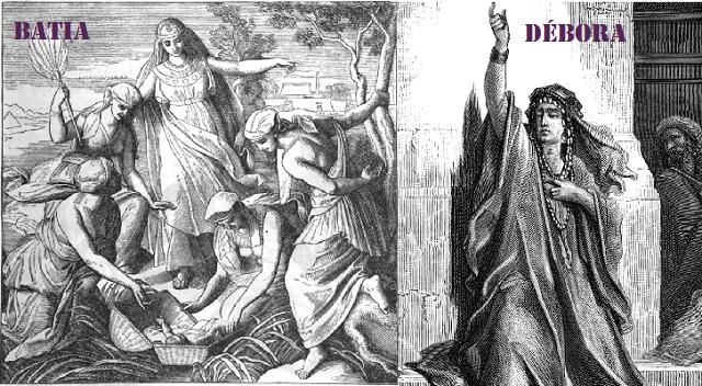 Batia es la reencarnación de Javá (Eva) y la profetisa Dborá (Débora), la de Tzipora (Séfora)