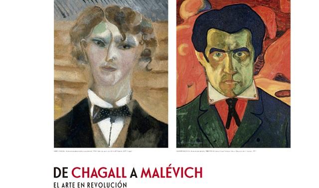 Marc Chagall en una exposición en la Fundación Mapfre de Madrid