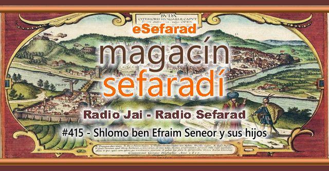 Shlomo ben Efraim Seneor y sus hijos