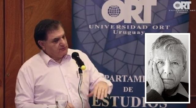"""""""Amos Oz: la literatura y los ideales"""", con Gustavo Perednik (Punta del Este, Uruguay, 4/2/2019)"""