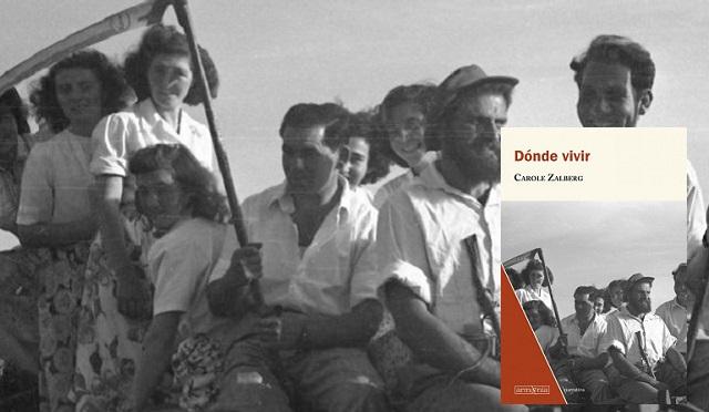 """""""Dónde vivir"""" de Carole Zalberg, con su editor Ricardo López"""