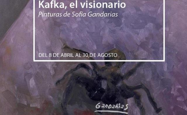 """""""Kafka, el visionario"""" de Sofía Gandarias, con su comisario Enrique Barón"""