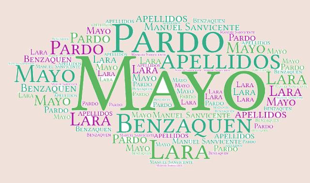 El origen de los apellidos Mayo, Pardo, Benzaquen y Lara