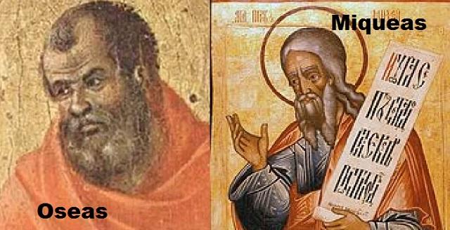 Me llamo como el profeta (VI): Oshea (Oseas) y Micá (Miqueas)