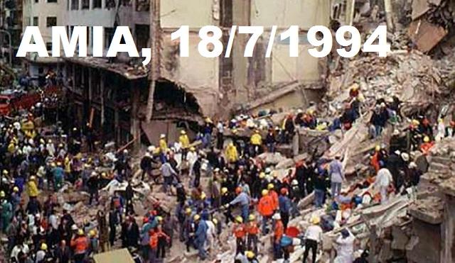 Acto conmemorativo del 25º Aniversario del atentado a la Asociación Mutual Israelita Argentina (AMIA), en la Embajada argentina en Madrid