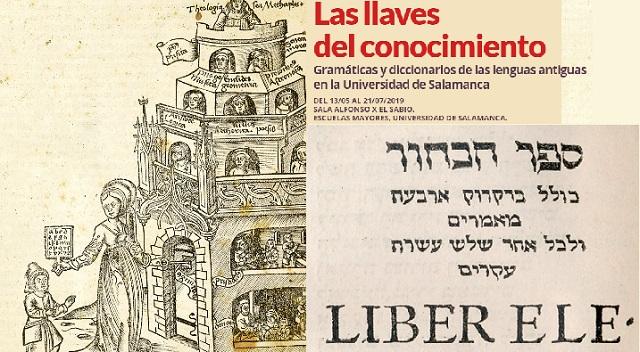 Las llaves del conocimiento: gramáticas y diccionarios de las lenguas antiguas en la Universidad de Salamanca