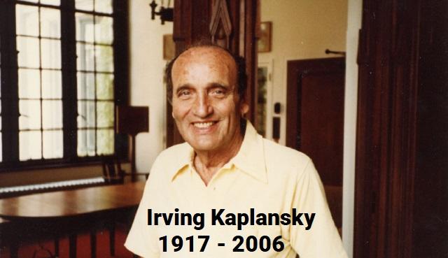 Irving Kaplansky y las ramas del álgebra