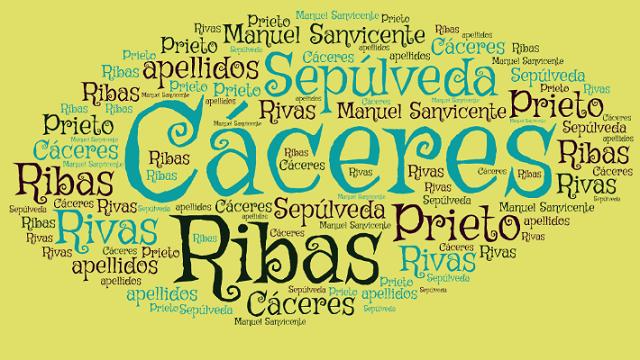 El origen de los apellidos Prieto, Cáceres, Sepúlveda y Rivas o Ribas