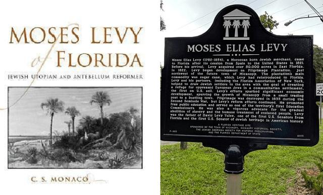 Camino a Occidente (19ª entrega): Moses Levy y una nueva Zion en Florida