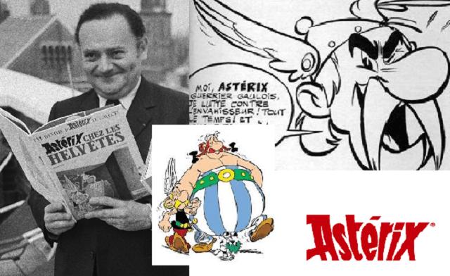 """A 60 años de la primera publicación de """"Asterix"""", con guion de René Goscinny"""