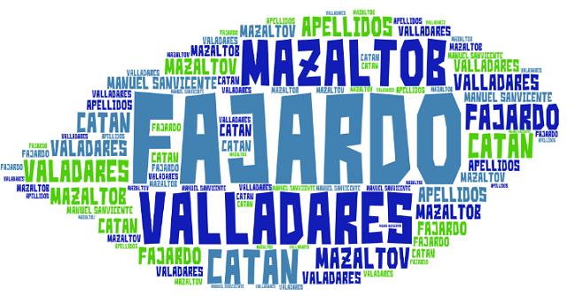 El origen de los apellidos Valadares (Valladares), Fajardo, Mazaltob (Mazaltov) y Catán