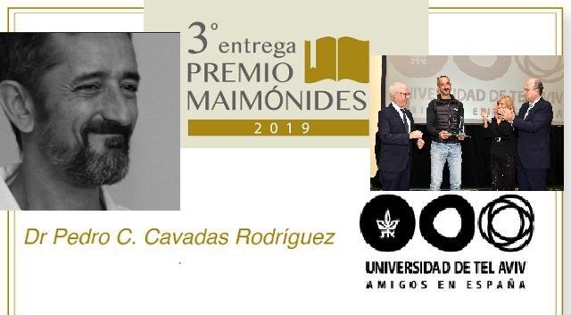 Ceremonia de entrega del 3º Premio Maimónides (Hotel Intercontinental, Madrid, 26/11/2019)