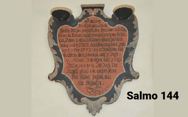 Salmo 144: tras triunfar en todas sus batallas, David compuso este Salmo de alabanza a Dios