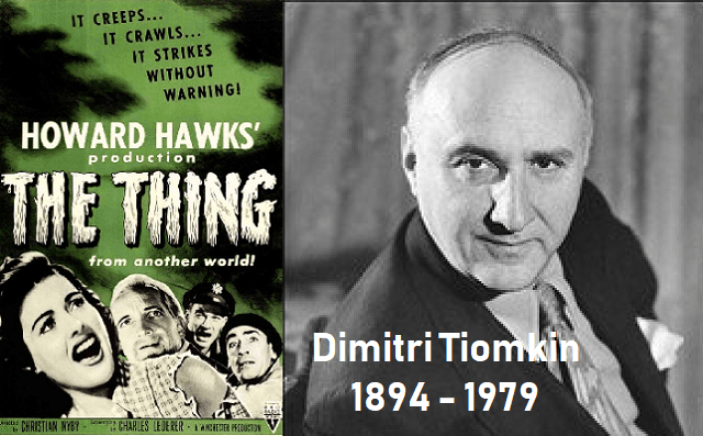 """La cosa"", de Dimitri Tiomkin"