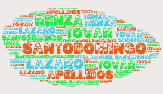 El origen de los apellidos Santodomingo, Tovar, Lázaro y Renza