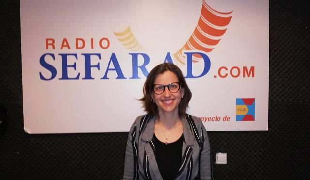 Con Shelly Hugler Livne, Consejera de Cultura de la Embajada de Israel en España
