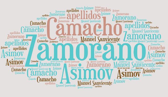 El origen de los apellidos Asimov, Zamorano y Camacho