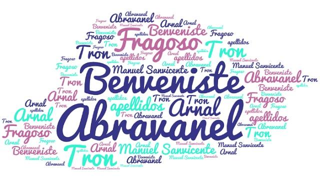 El origen de los apellidos Fragoso, Tron, Arnal, Abravanel y Benveniste