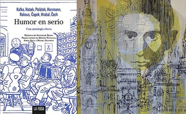 "Kafka, Rakous y Polácek en ""Humor en serio"""