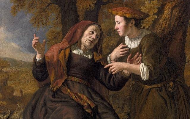 Grandes mujeres y sus nombres (VI): Ruth y Noemí (Naomi)