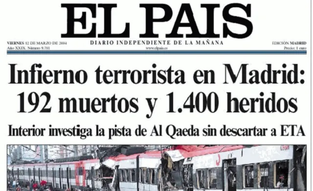 El 11-M, Zapatero y Moratinos