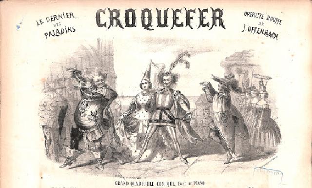 Croquefer, ou le dernier des paladins