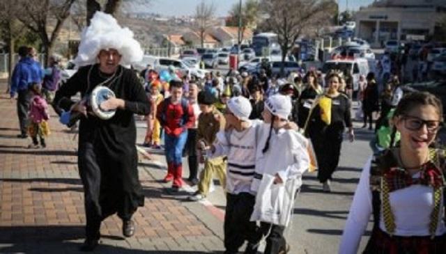 Los festejos de Purim en ciudades con y sin muralla