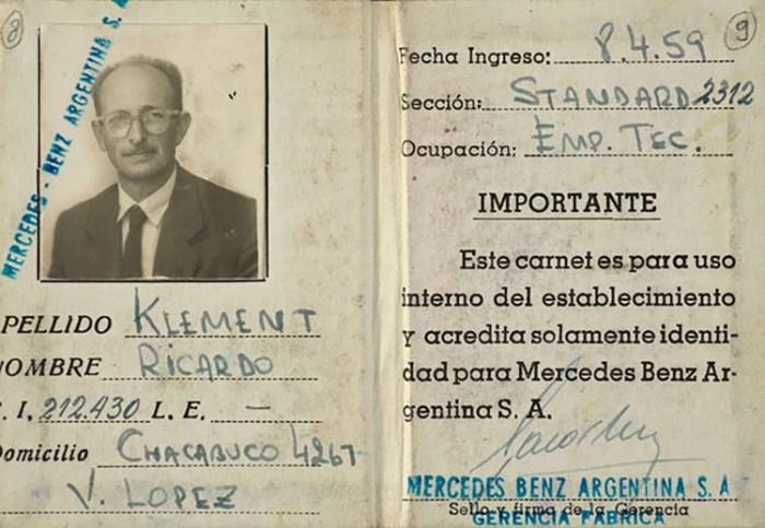Se cumplen 60 años de la captura de Adolf Eichmann