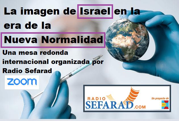 """Mesa redonda: """"La imagen de Israel en la era de la Nueva Normalidad"""" (online, 27/5/2020)"""