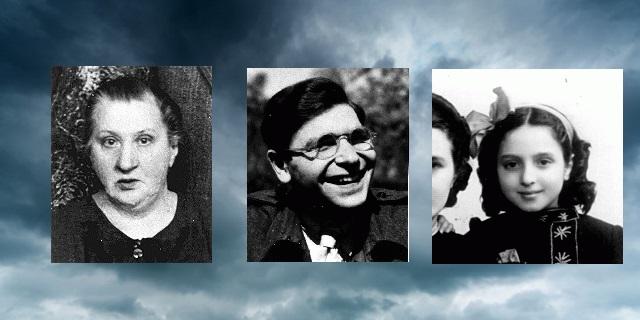 En nuestra memoria Rachel Lea Galperin, Frank  Meissner, y Flora Mendelovicz