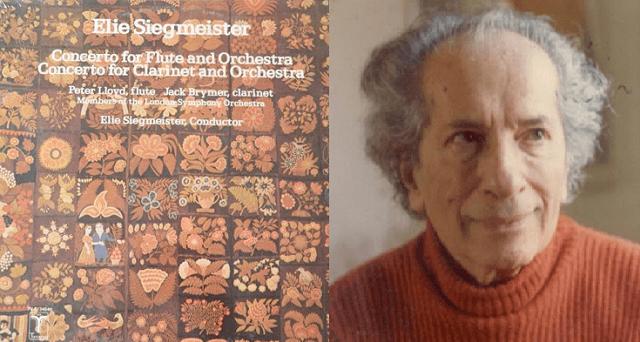 Concierto para flauta y orquesta de Elie Siegmeister
