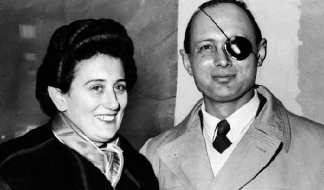 Adiós Ruth Dayan Z'L, esposa del general Moshe Dayan