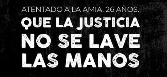 Petición de justicia tras 26 años del atentado a la AMIA, con Gustavo Szpigiel