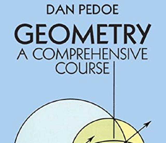 Geometría algebraica con el inquieto Daniel Pedoe