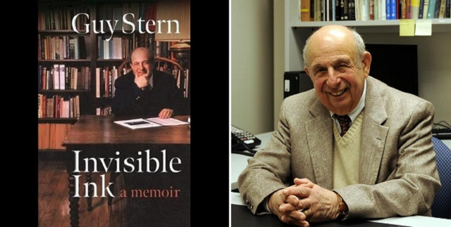 "Guy Stern: ""Invisible Ink"" Made Visible"