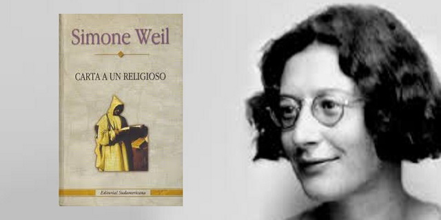 """""""Carta a un religioso"""" de Simone Weil"""