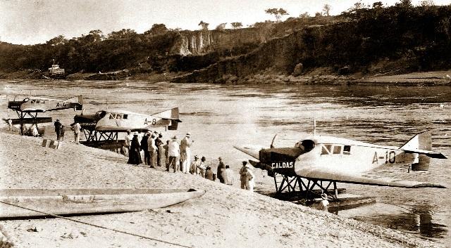 Scadta: la primera aerolínea comercial del continente americano