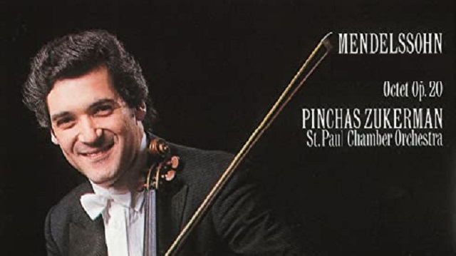 Pinchas Zukerman dirige el Octeto para cuerdas de Mendelssohn