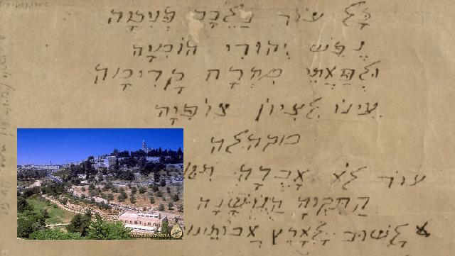 Esperanza en la tierra de Sion