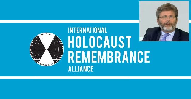 La Alianza Internacional para la Memoria del Holocausto (IHRA), con Miguel de Lucas (online, CEMI, 11/5/21)
